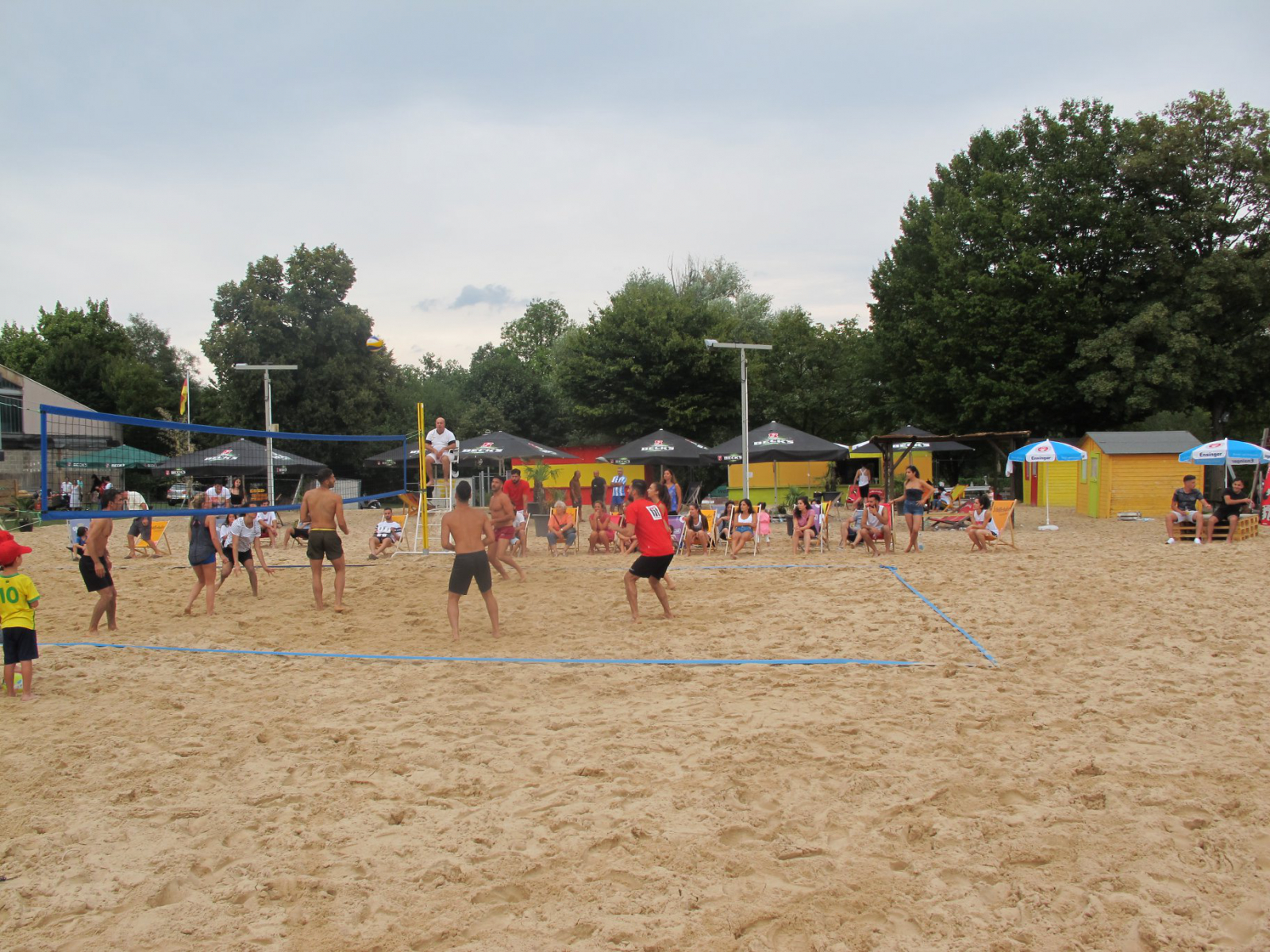 Beachvolleyball Champions 2018   Turnier - Aramäer